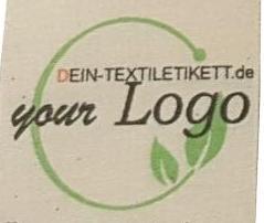 Bio-Baumwolle Label-Natur